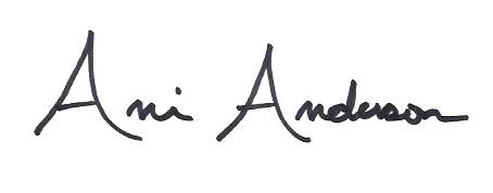 Ani Anderson Signature